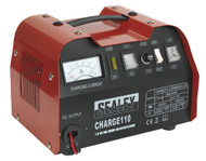 Sealey CHARGE110 Battery Charger 14Amp 12/24V 230V
