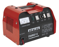 Sealey CHARGE112 Battery Charger 16Amp 12/24V 230V