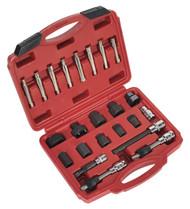 Sealey SX403 Alternator Freewheel Pulley Removal Set 23pc