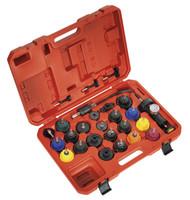 Sealey VS0011 Cooling System Pressure Test Kit 25pc