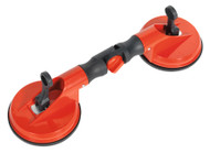 Sealey AK8929 Adjustable Suction Gripper Double Head