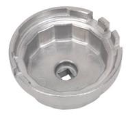 Sealey VS7112 Oil Filter Cap Wrench åø64.5mm x 14 Flutes - Lexus/Toyota
