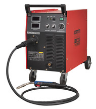 Sealey POWERMIG3525 Professional MIG Welder 250Amp 415V with Binzelå¬ Euro Torch