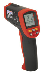 Sealey VS907 Infrared Laser Digital Thermometer 12:1