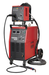 Sealey POWERMIG6025S Professional MIG Welder 250Amp 415V with Binzelå¬ Euro Torch & Portable Wire Drive
