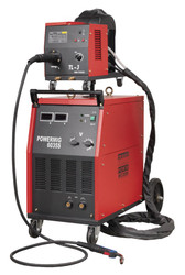 Sealey POWERMIG6035S Professional MIG Welder 350Amp 415V with Binzelå¬ Euro Torch & Portable Wire Drive