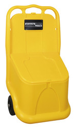 Sealey GB04 Grit/Salt Mobile Storage Cart 75ltr