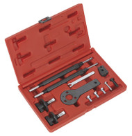 Sealey VSE2511A Petrol Engine Setting/Locking Kit - Alfa Romeo, Fiat, Lancia 1.2, 1.4 16v, 1.4 T-Jet - Belt Drive