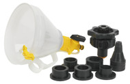 Sealey VS0043 Automotive Coolant Filler Set