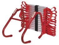 Sealey EEL01 Emergency Escape Ladder 4.5mtr 2-Storey