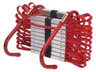 Sealey EEL02 Emergency Escape Ladder 7mtr 3-Storey