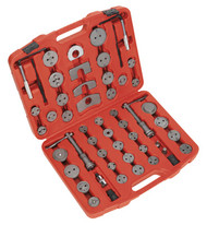 Sealey VS0287 Brake Piston Wind-Back Tool Kit 52pc