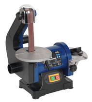 Sealey SM750 Belt/Disc Sander 25 x 762mm/åø125mm 250W/230V
