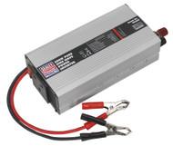 Sealey PSI600 Power Inverter Pure Sine Wave 600W 12V DC - 230V 50Hz