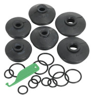 Sealey RJC01 Ball Joint Dust Covers - Car Pack of 6 Assorted