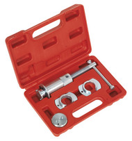 Sealey VS0288 Brake Piston Wind-Back Tool Kit 4pc - Vauxhall/Opel