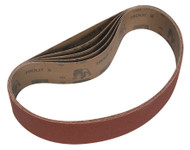 Sealey BG150B80G Sanding Belt 50 x 686mm 80Grit Pack of 5