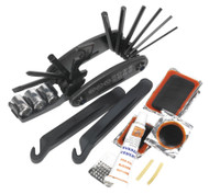 Sealey BC210 Folding Multi-Tool & Puncture Repair Kit - Bicycle