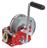 Sealey GWC2000B Geared Hand Winch with Brake & Cable 900kg Capacity