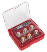 Sealey VS613 Oil Drain Plug Thread Repair Set - M13