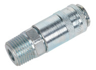 "Sealey AC63 Coupling Body Male 1/2""BSPT"
