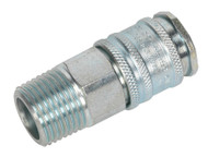"Sealey AC78 Coupling Body Male 1/2""BSPT"