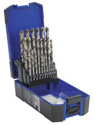 Sealey AK47251 HSS Split Point Fully Ground Drill Bit Set 25pc Metric