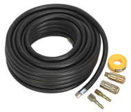 Sealey AHK01 Air Hose Kit 15mtr x åø8mm with Connectors