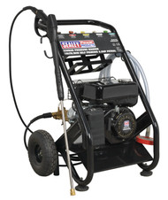 Sealey PWM2500SP Pressure Washer 220bar 600ltr/hr Self-Priming 6.5hp Petrol