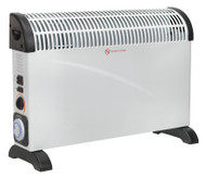 Sealey CD2005TT Convector Heater 2000W/230V with Turbo & Timer