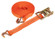 Sealey TD2008J Ratchet Tie Down 35mm x 8mtr Polyester Webbing 2000kg Load Test