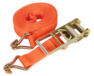 Sealey TD10010J Ratchet Tie Down 75mm x 10mtr Polyester Webbing 10000kg Load Test