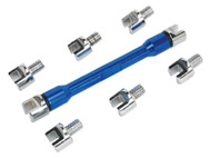 Sealey MS086 Spoke Wrench Set 9pc