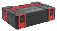 Sealey AP8130 ABS Stackable Click Together Toolbox - Small