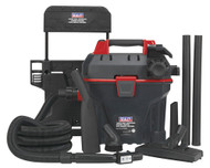 Sealey GV180WM Garage Vacuum 1500W with Remote Control - Wall Mounting