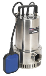 Sealey WPS250A Submersible Stainless Water Pump Automatic 250ltr/min 230V