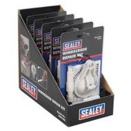Sealey WK01DB Windscreen Repair Kit Display Box of 5