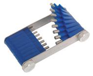 Sealey CJT02 Carburettor Jet Tool 1.5-3mm 16pc