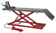 Sealey MC680A Motorcycle Lift 680kg Capacity Heavy-Duty Air/Hydraulic