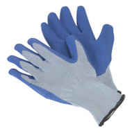 Sealey SSP48D Latex Knitted Wrist Gloves - Large Pack of 12 Pairs