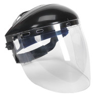 Sealey SSP78 Deluxe Browguard with Aspherical Polycarbonate Full Face Shield