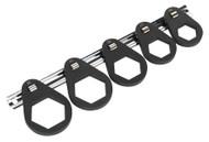 Sealey VS7118 Oil Filter Cap Wrench Set 5pc