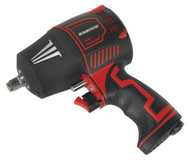 "Sealey SA6006 Composite Air Impact Wrench 1/2""Sq Drive Twin Hammer"
