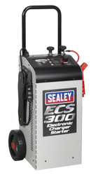 Sealey ECS300 Electronic Charger Starter 45/300A 12/24V