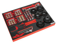 Sealey TBTP09 Tool Tray with Oil Service Tools 41pc