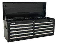Sealey AP5210TB Topchest 10 Drawer with Ball Bearing Runners - Black