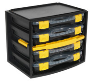 Sealey AP0709 Portable 4 Case Modular Organizer