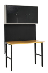 Sealey AP20FWB Foldable Workstation with Cupboards