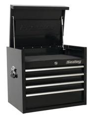 Sealey PTB66004 Topchest 4 Drawer 660mm Heavy-Duty Black