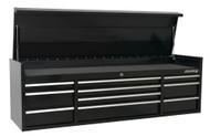 Sealey PTB181510 Topchest 10 Drawer 1830mm Heavy-Duty Black